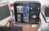 Zombies PC mod caso, unidades montan detrás de la PC muerto con parte del ahorro de espacio.