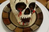 Un toque de mezcla para pastel en caja - Halloween