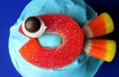 (Taza) pasteles de pescado