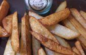 Hacer papas fritas hechas en casa!