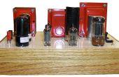 6V6 Pushpull Calss AB tubo amplificador Mono.