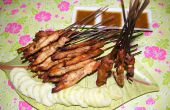 Satay de pollo (Sate Ayam Banjar)