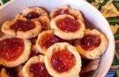 Galletas de mermelada de arándano