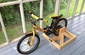 Soporte de bicicleta estacionaria para niños