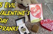 5 decir bromas de día de San Valentín!
