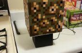 Minecraft piedra brillante cubo lámpara