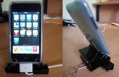 IPhone / iPod Touch binder clip de pie con cable provisión actualizado