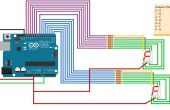 Conducir dos siete segmentos LED de Arduino