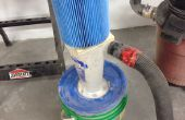 Filtro separador de ciclón para cepilladora DW735