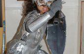 Alice en traje de país de las maravillas - armadura Medieval