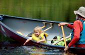 Cómo a solas de canoa