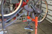 Soporte de reparación/mantenimiento de bicicleta portátil