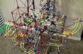Frivolidad-una máquina de la bola de K'Nex