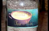 Mezcla de té de Chai de vainilla instantáneo