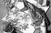 Hacer un puzzle de M.C. Escher reptil en su CNC router/molino