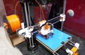 Edificio prusa i3 la impresora 3D con extrusora directa