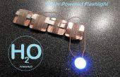 Powered Linterna - micro batería MEDELIS del agua