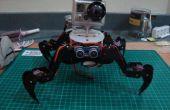 Grasa O el Robot cuadrúpedo con acrílico marco