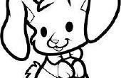 Cómo dibujar un conejo come