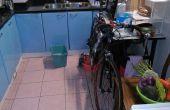 Zen y el arte del pequeño apartamento bicicleta limpieza