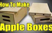 Cómo hacer Apple cajas