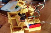 Arduino y Lego seguidor Solar (doble eje)