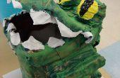 Cocodrilo Cocodrilo abajo el lago: Caja para un ejercicio de dibujo