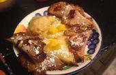 Rangoon de Cheesecake de coco miel! con recetas de bonificación