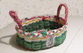 Canasta de Pascua bolsas de plástico