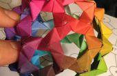 Hacer el Buckyball de Origami Raibow PHiZZ!