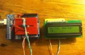 Control de display LCD ATTiny45/85 con un registro de desplazamiento, programado en Arduino