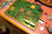 Cómo reparar una YLOD de PS3... con horno.