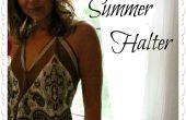 Superior de la bufanda de verano fácil
