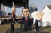 Creación de una marioneta gigante de desfile