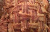 Bacon ahumado envuelto Turquía