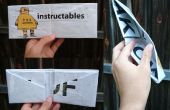 Cómo hacer un monedero de 1 pedazo de periódico