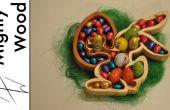 Conejito de Pascua del tazón de fuente
