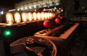 Antiguo órgano de bombilla - MIDI/OSC controlado