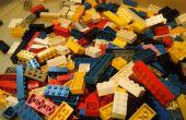 Panorámica de ladrillos, ladrillos lego