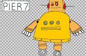 Dibujos animados 2D Animación del Robot Instructable