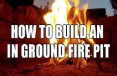 Cómo construir un suelo en hoyo del fuego
