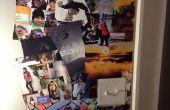 Cómo hacer un Collage de pared