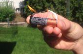 Hacer un encendedor de: Batería + envoltura de goma
