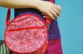 Hacer un bolso redondo, circular, no cuadrangular totalmente inusual