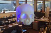 SKULLpilepsy!  3D impreso lámpara LED.
