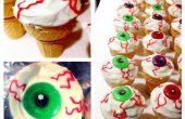 Globo ocular Ice Cream Cone Cupcakes!