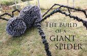 La construcción de una araña gigante