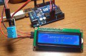 Mostrar Temperatura en Display con Arduino de Sensor DHT11 y
