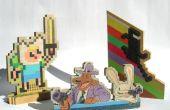 Arte del pixel de madera en pequeña escala (v2)