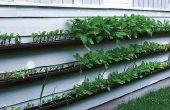 Cómo hacer un jardín colgante de canal